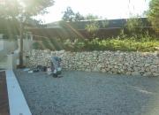 Led rasvjeta -postavljanje u kamen