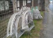 Novogodišnji aluminiski motivi za stupovr