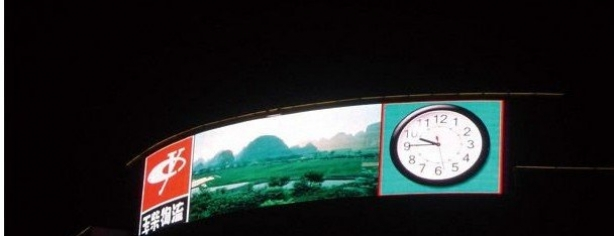 Pl377361 P10 Dip Outdoor Full Color Flexible Led Screens Video Display With High Resolution Ip65